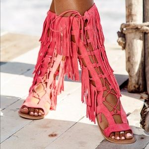 Pretty little thing sandals
